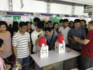 チャーピーがベトナム カントーでの 第3回越日経済・文化交流祭に出展